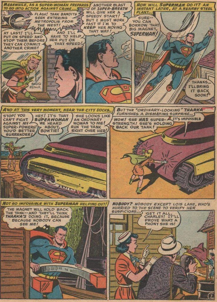 superman 81 2 - La primera vez que  Superman derretió plomo con sus poderes de visión