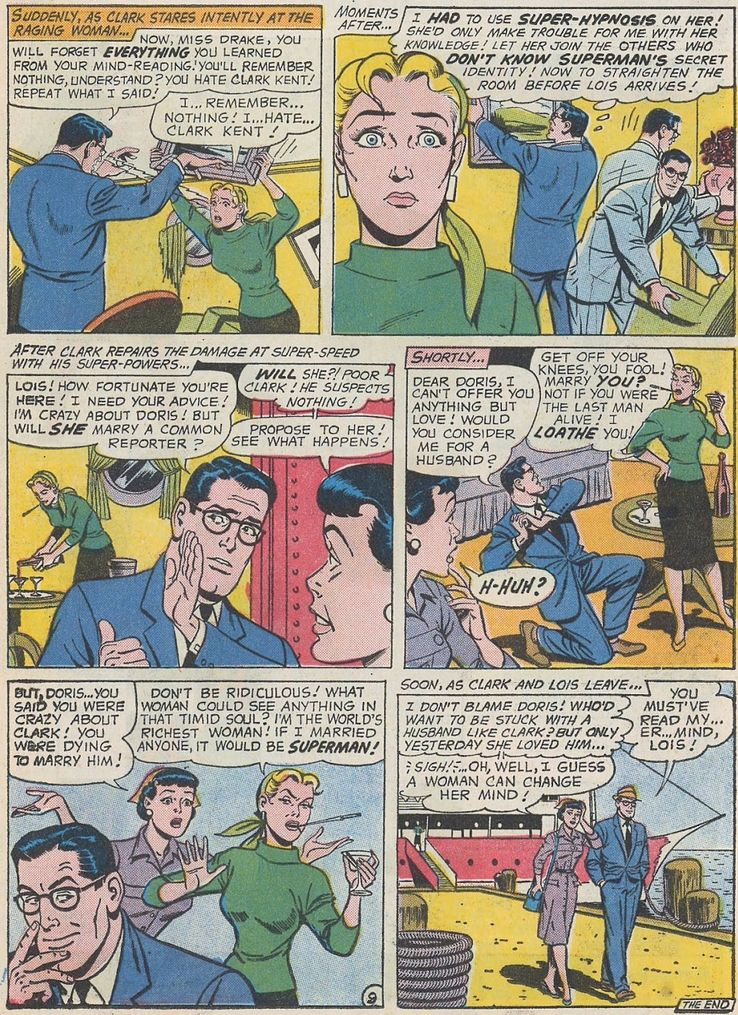 supermans girl friend lois lane 17 - Superman ha tenido unos poderes de visión realmente extraños a lo largo de los años