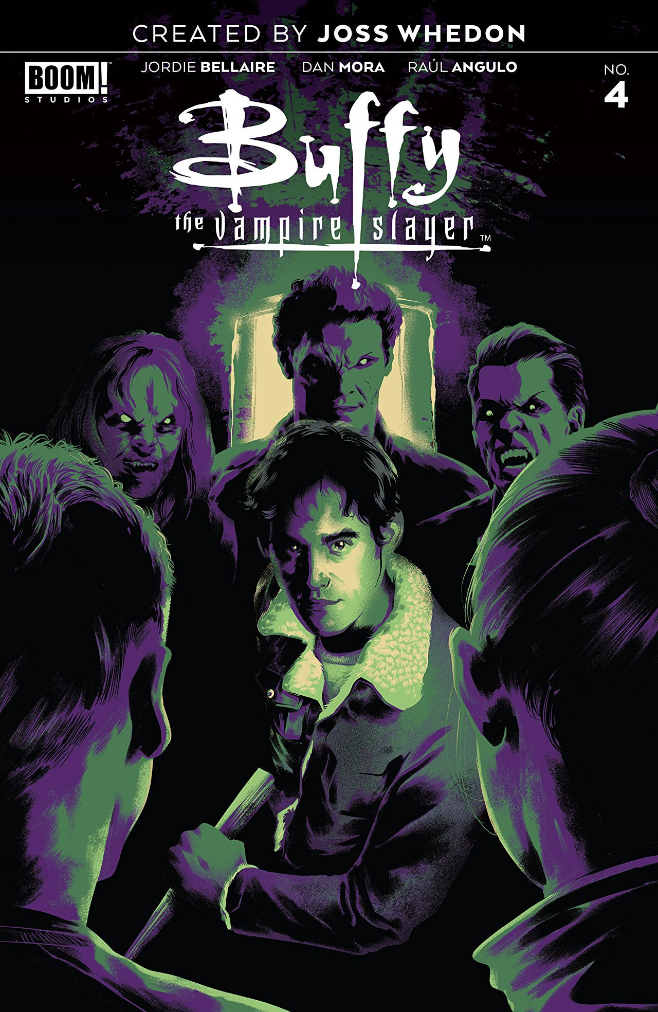 Buffy the Vampire Slayer #4 Plays to the Franchise's Strengths