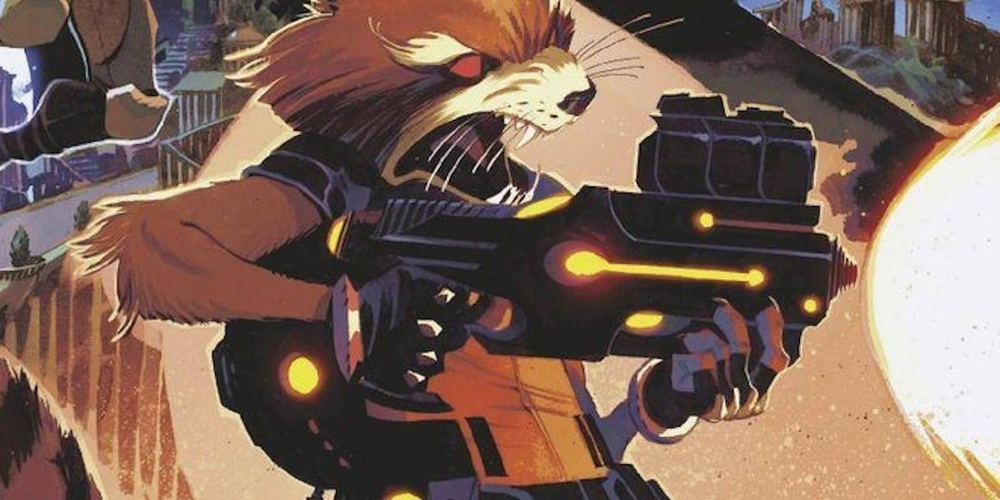 Guardians of the Galaxy Introduces Rocket's Biggest Gun, Ever