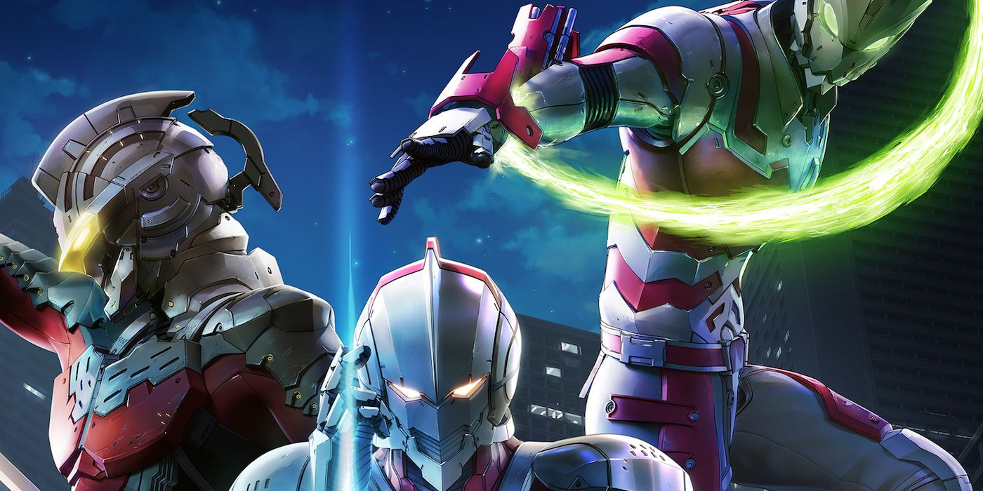 The three ultramen of netflixs ultraman anime explained cbr