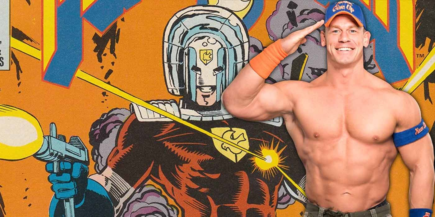 The Suicide Squad: John Cena Will Reportedly Play Peacemaker