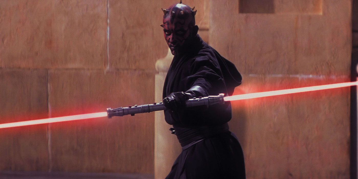 Star Wars: How Maul Survived His Duel With Obi-Wan in The Phantom Menace