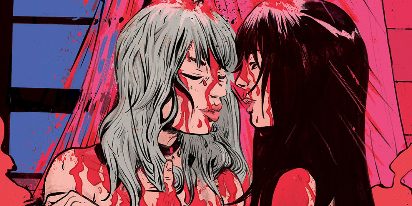 INTERVIEW: How Azzarello & Llovet Mix Erotica and Horror In Faithless