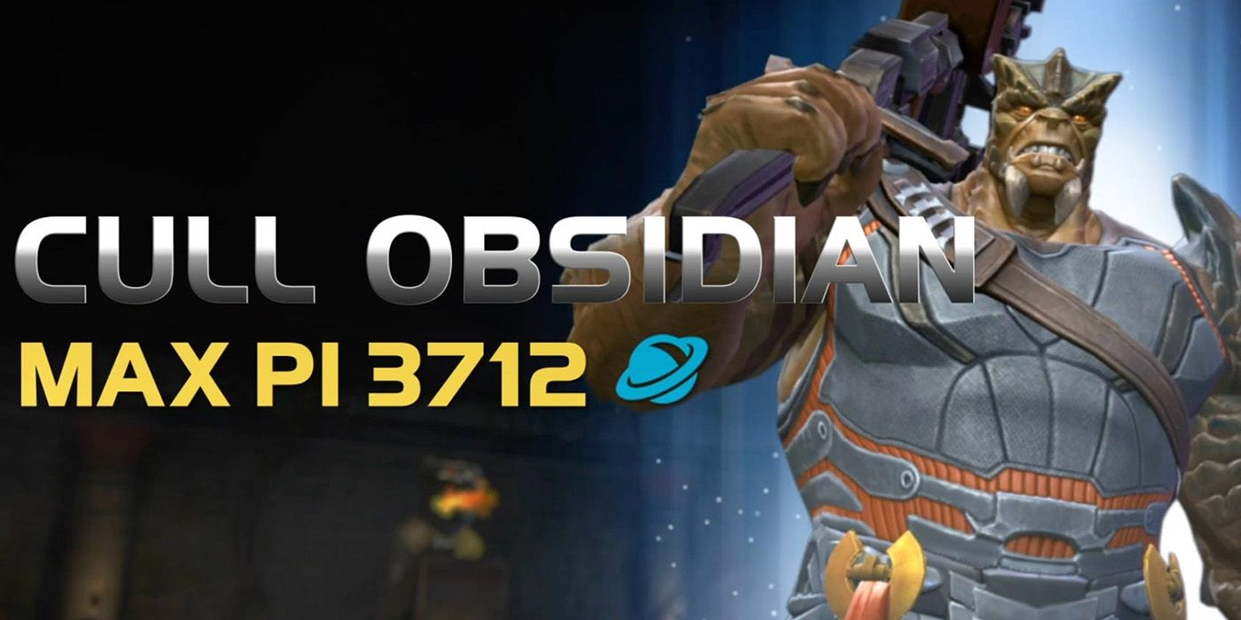 Marvel Contest of Champions Recruits Black Order's Cull Obsidian