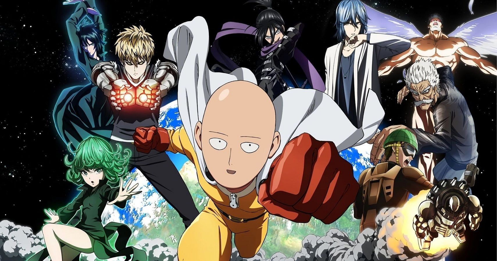 One Punch Man 5 Heroes 5 Villains Ranked By Power Excluding Saitama