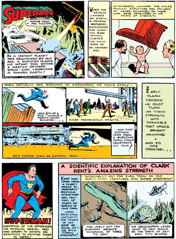 action comics 1 - ¿Cuándo Superman fue llamado Kal-El?