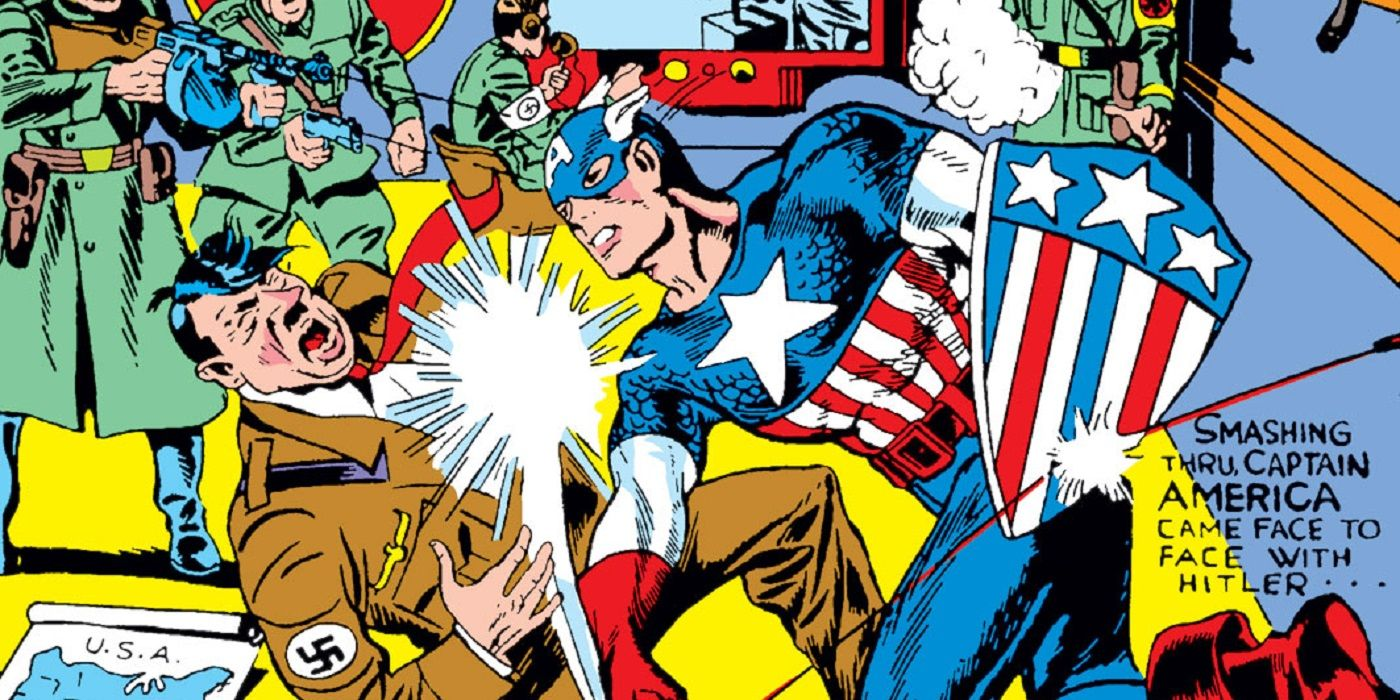 Why Did Captain America Comics #1 Begin With Volume Two? | CBR