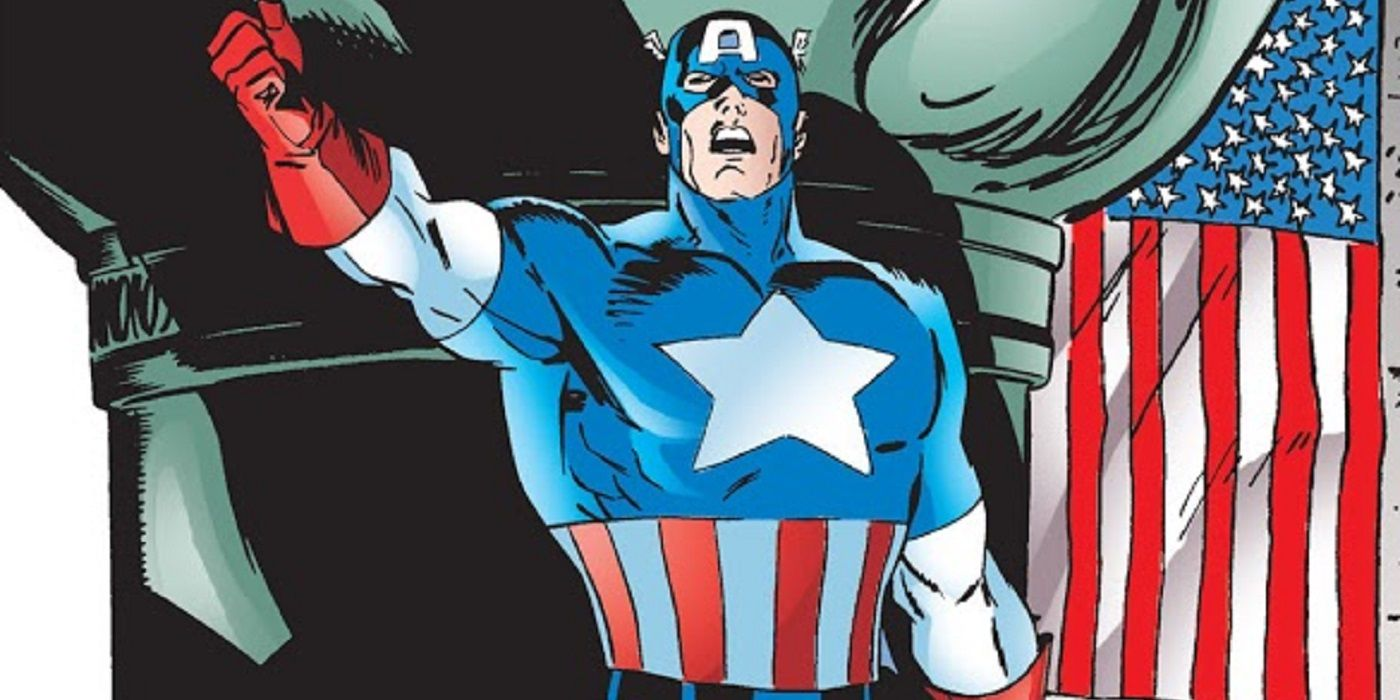 Korvac's Power Can't Stand Up to Captain America's Ideals!  CBR