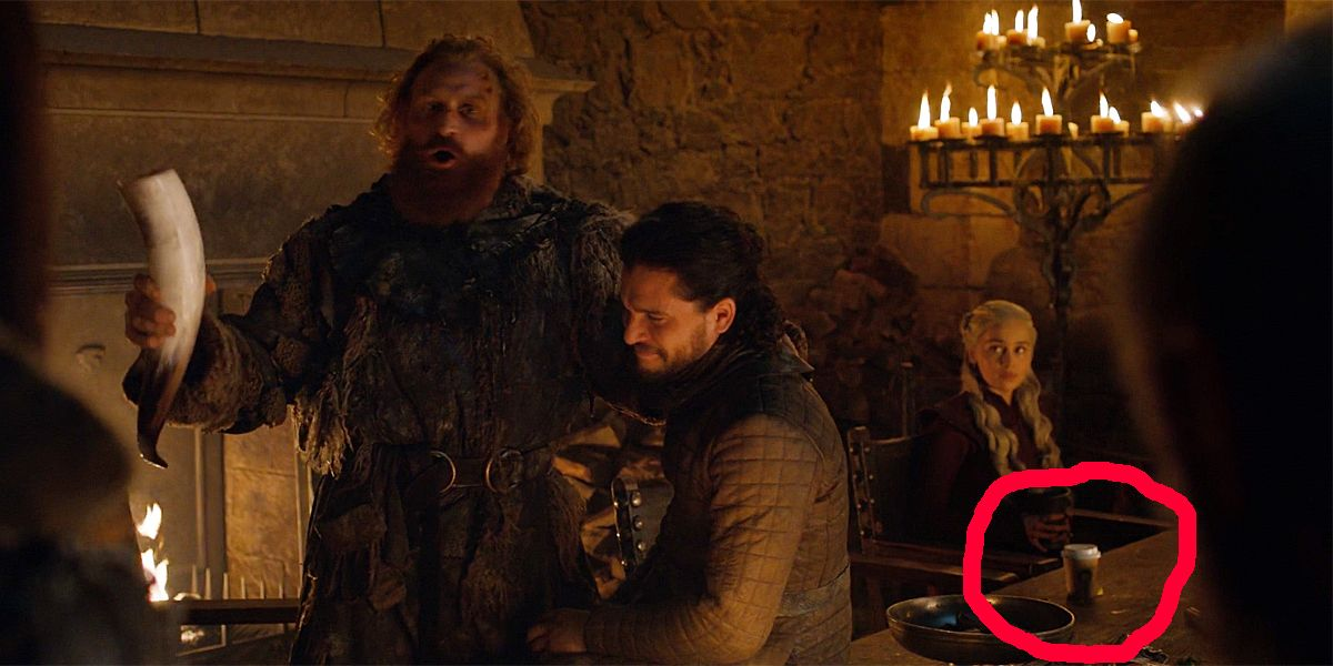 Game of Thrones Showrunners Respond to Coffee Cup Gaffe   CBR