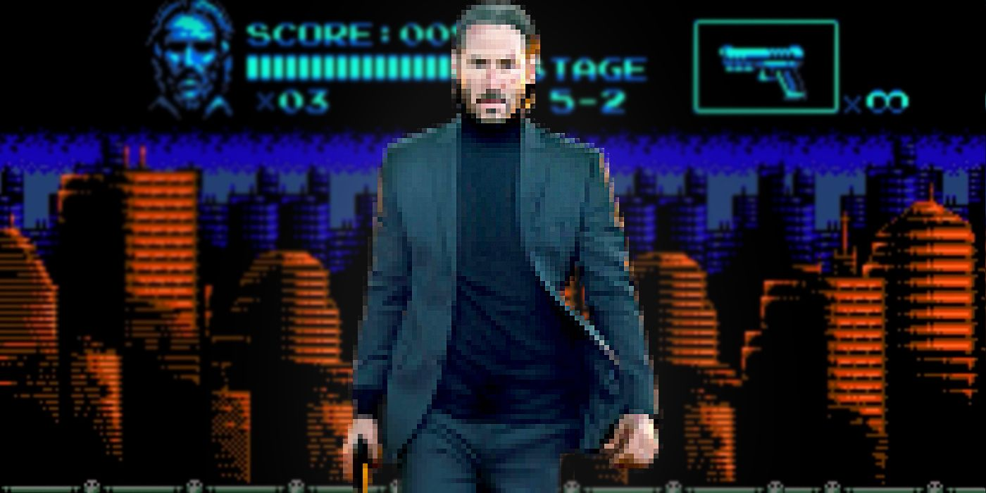 John Wick Reimagined as an NES Game is Perfect | CBR