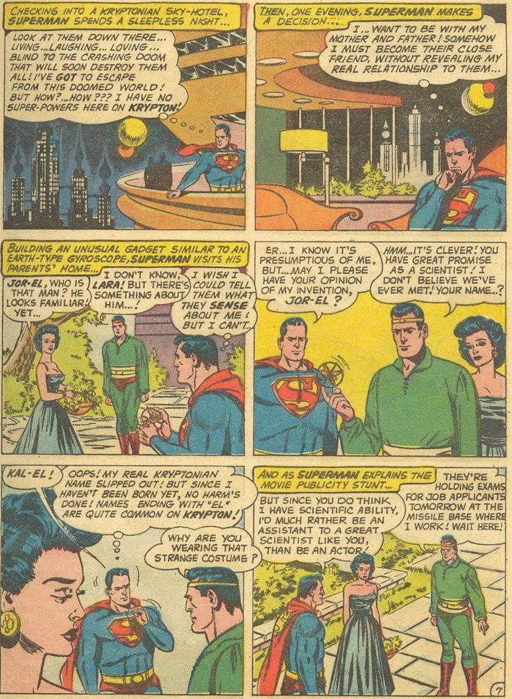 superman 141 - ¿Cuándo Superman fue llamado Kal-El?