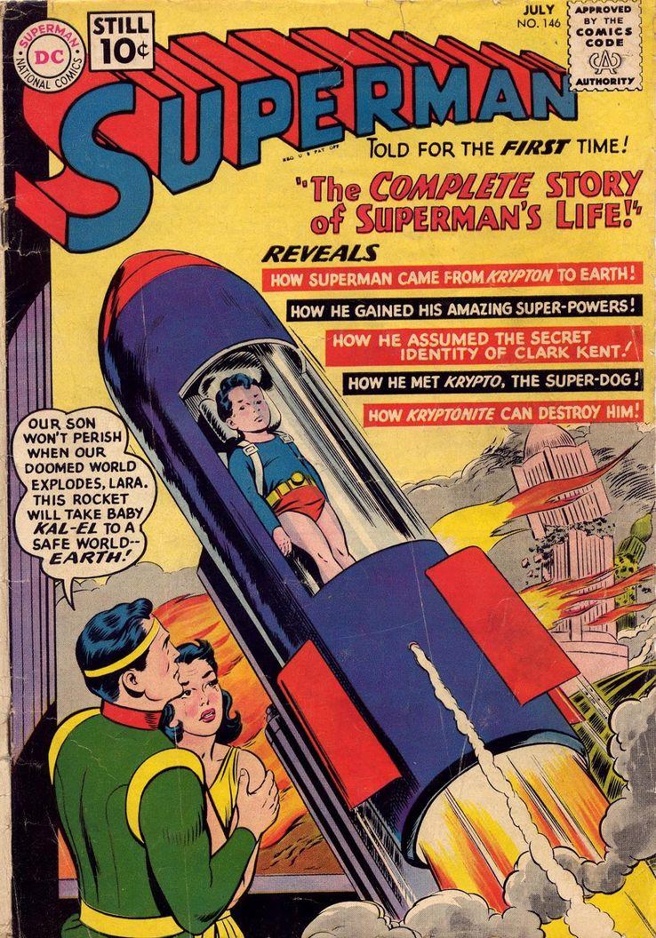 superman 146 - ¿Cuándo Superman fue llamado Kal-El?