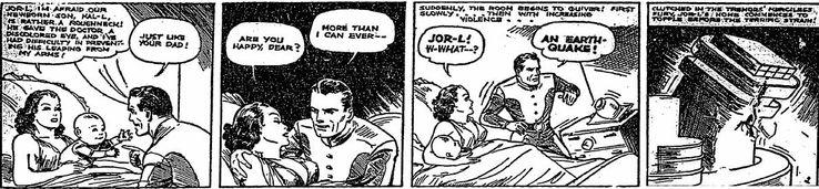superman comic strip kal l - ¿Cuándo Superman fue llamado Kal-El?