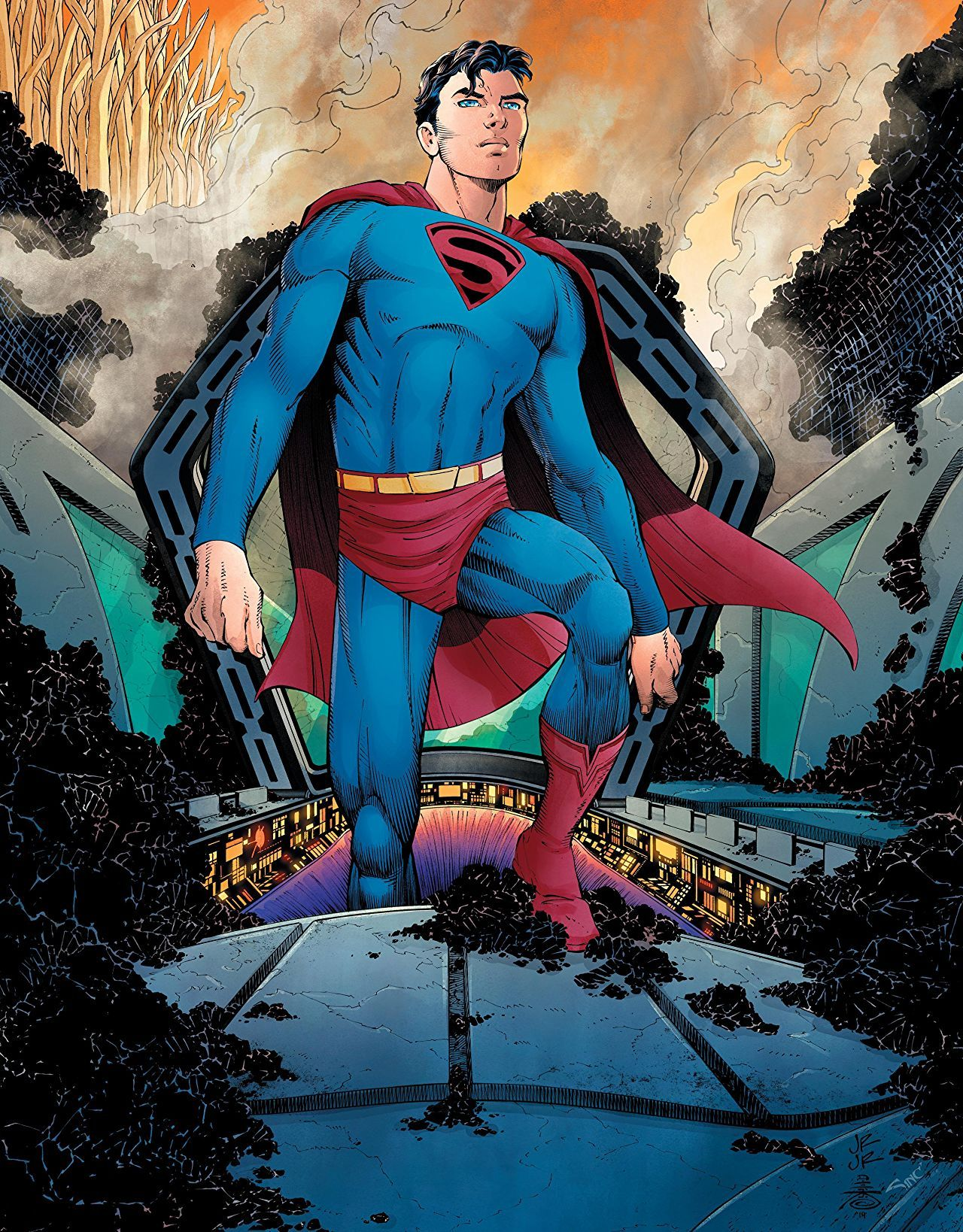 REVIEW: Miller & Romita's Superman: Year One is Big, Bold and Weird