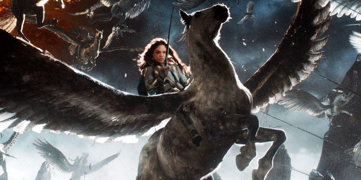 Avengers: Endgame - Where Did Valkyrie Get That Winged Horse?