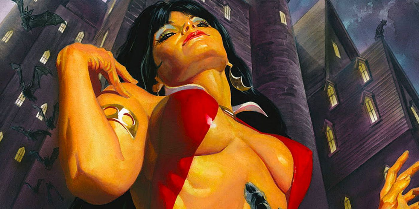 INTERVIEW: Vampirella Writer Christopher Priest Promises 'Satirical Science Fiction'