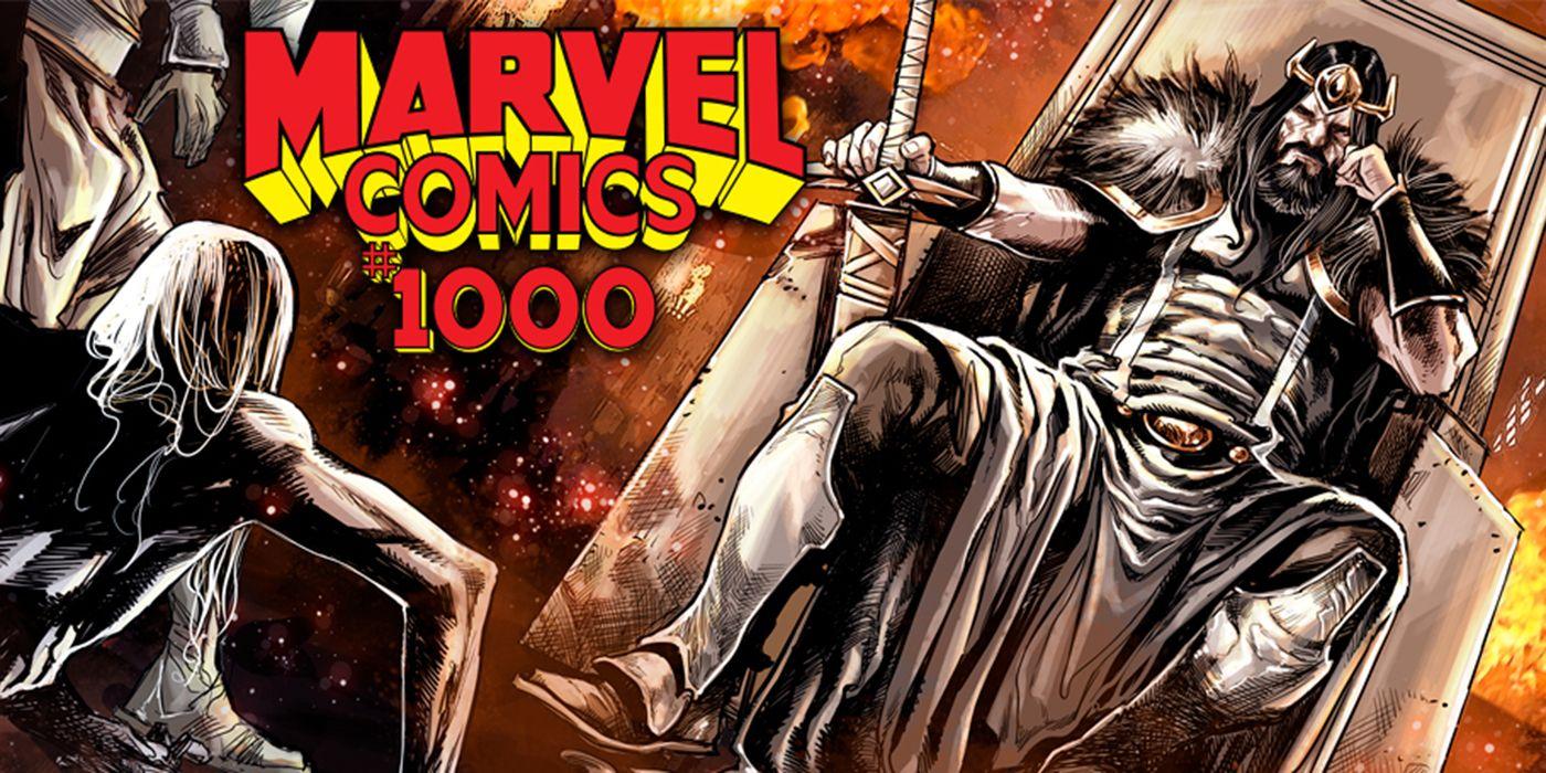 Conan the Barbarian Joins Marvel Comics #1000 | CBR