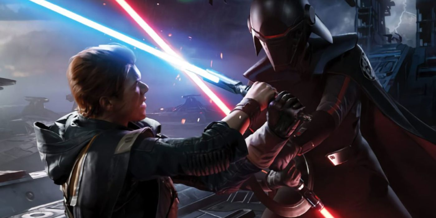 Star Wars Jedi: Fallen Order Doubles Down on Reylo and Anidala Parallels