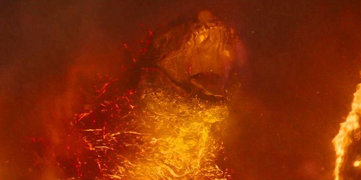 Image result for Burning Godzilla hot radiation