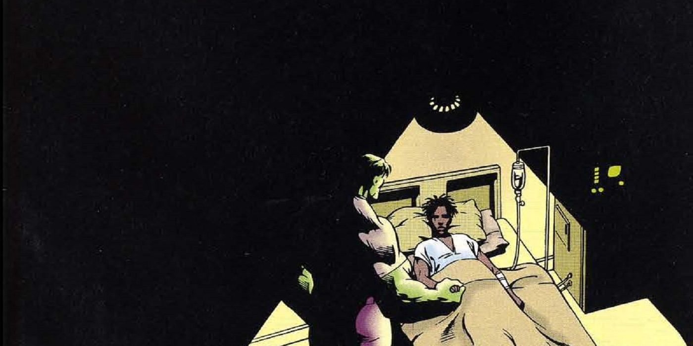 Look Back: The Hulk Tackles the Tragedy of AIDS | CBR