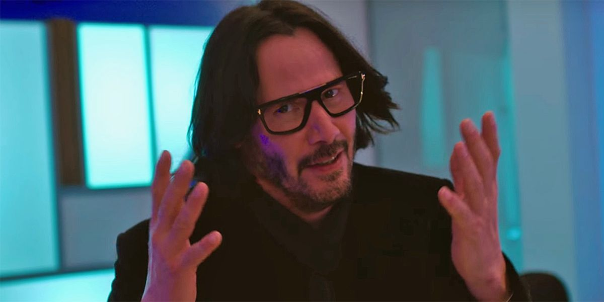 Bill & Ted Face the Music Set Photo Reveals Keanu As You've Never Seen Him
