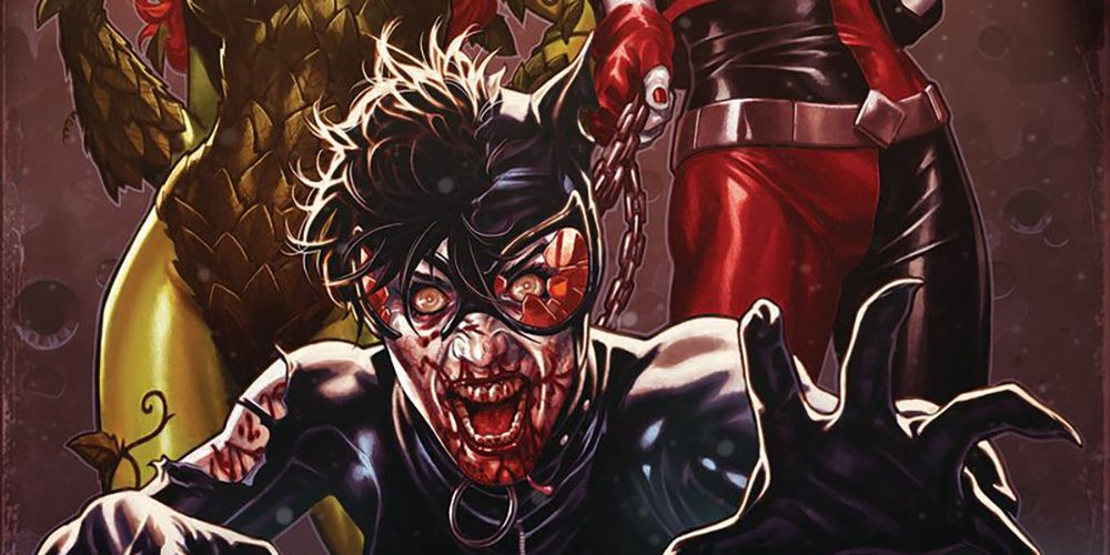 DCeased #6 Cover Reveals Catwoman Leashed By Harley Quinn, Poison Ivy