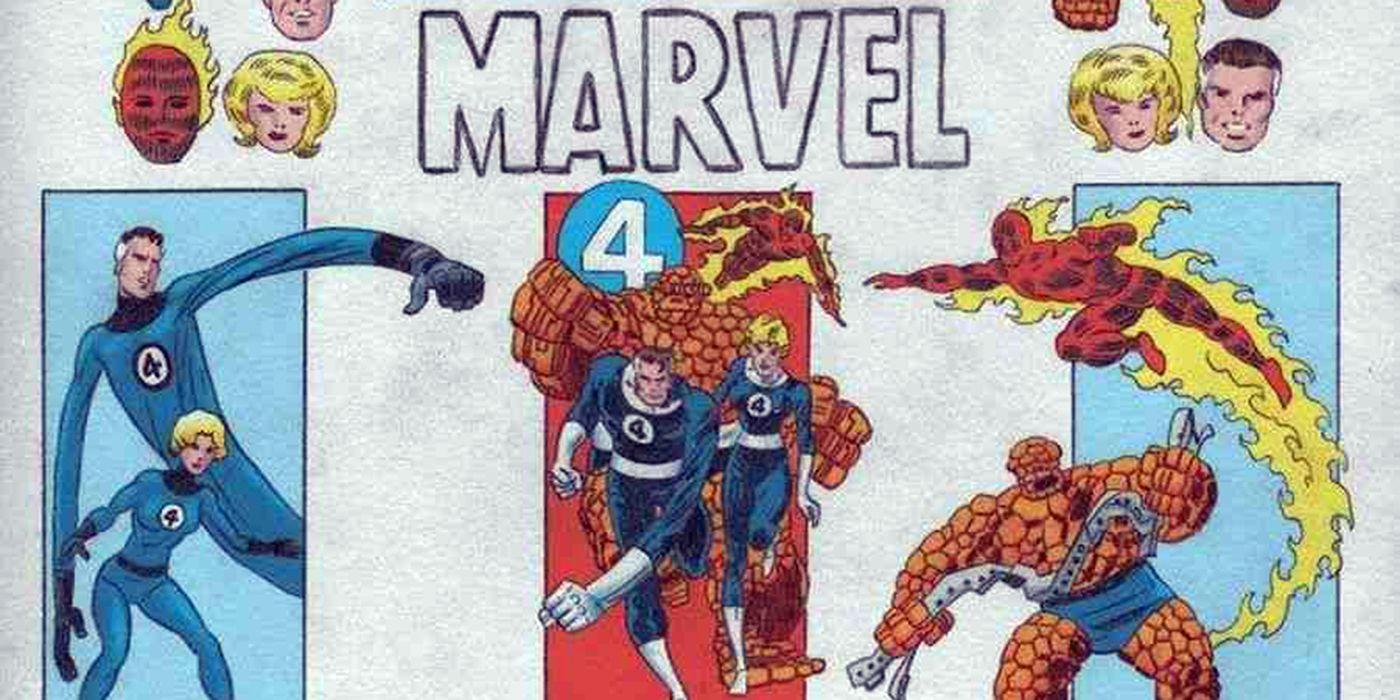Marvel Comics Announces Fantastic Four: Grand Design | CBR