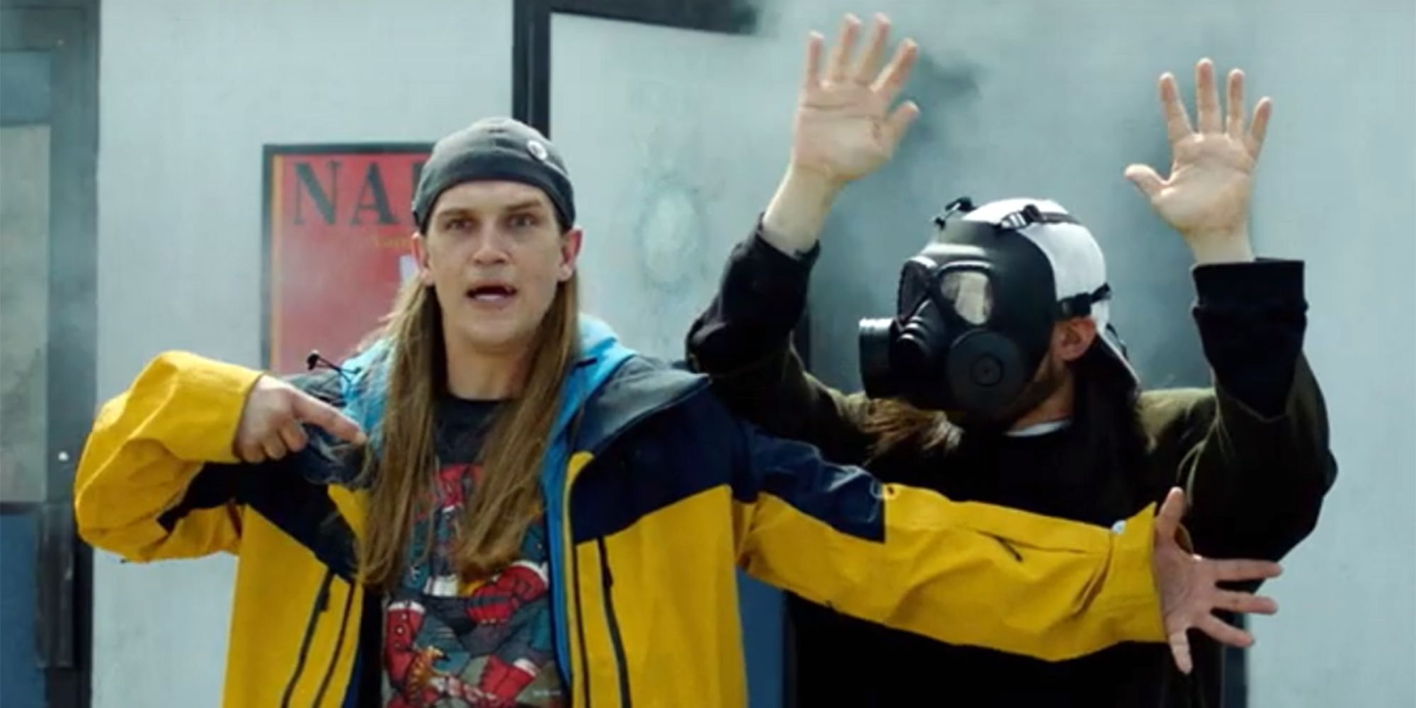 Kevin Smith's Jay and Silent Bob Reboot Debuts An Epic Giveaway Poster