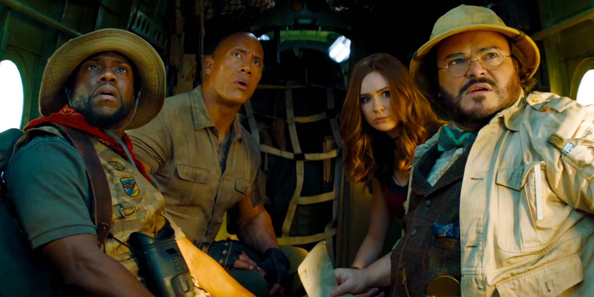 Jumanji: The Next Level Introduces Two New OP Game Characters