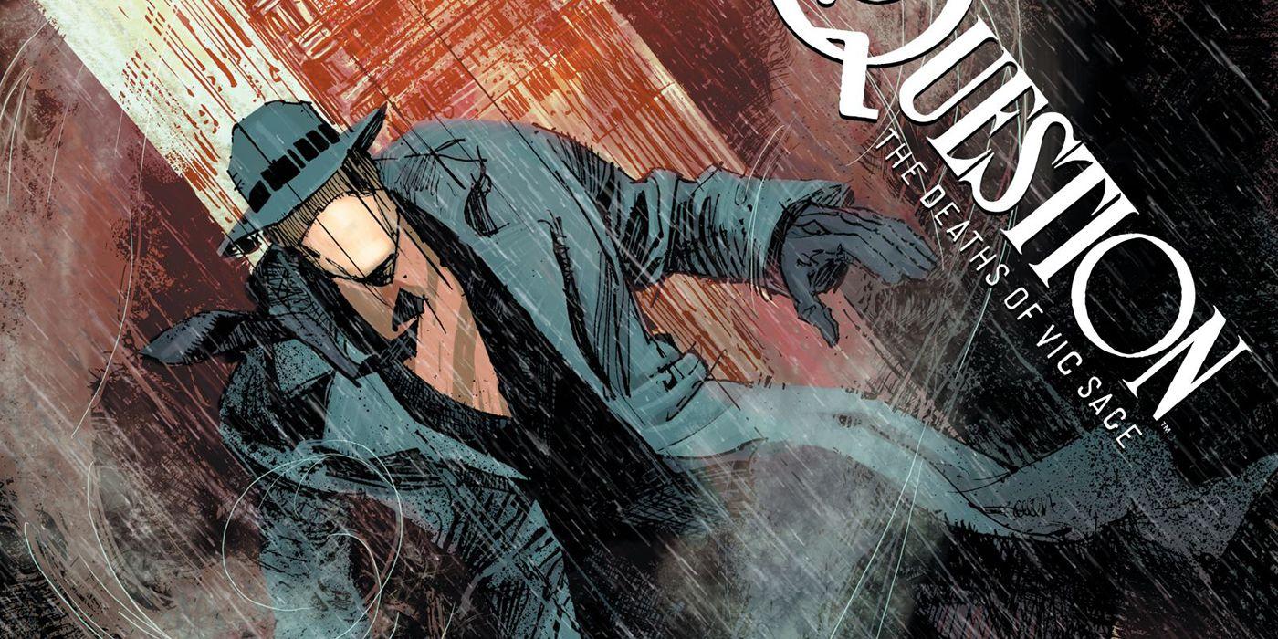 DC Black Label Announces The Question: The Deaths of Vic Sage