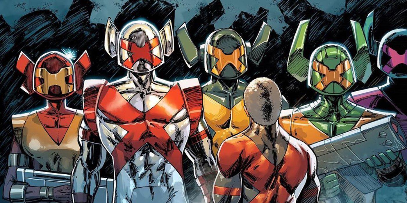 Rob Liefeld Reveals a New X-Men Team in Major X #0 | CBR