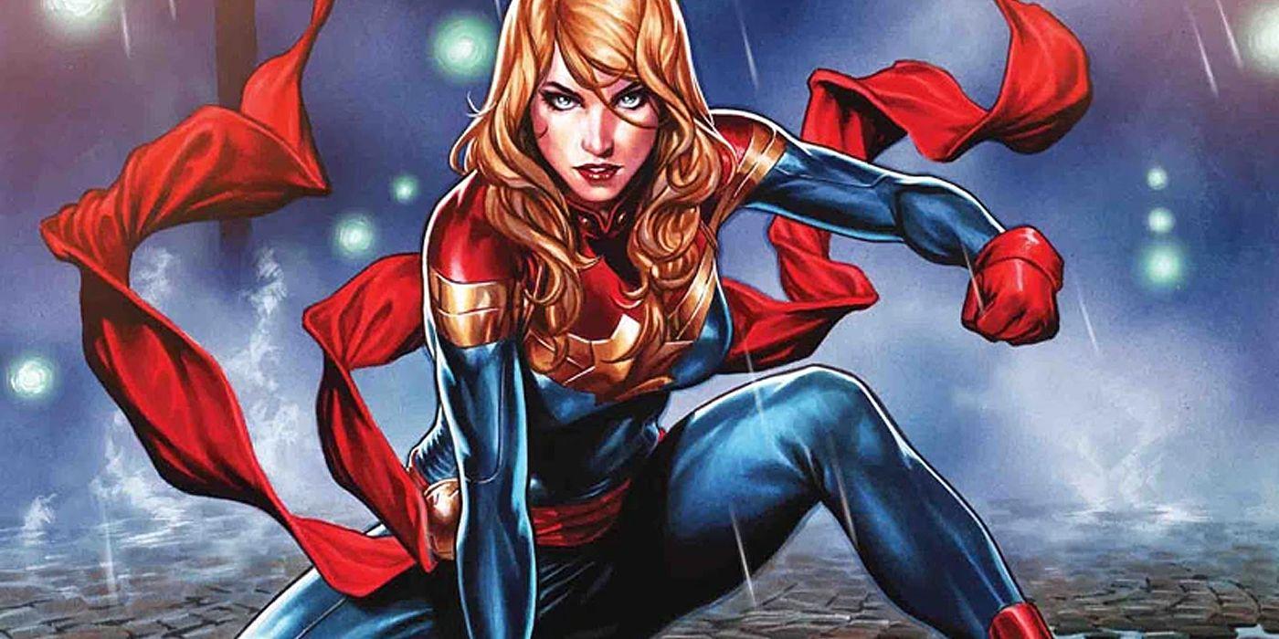 Captain Marvel: Carol Danvers Gets Her Very Own Batcave   CBR