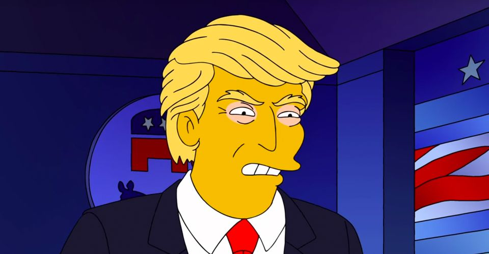 The Simpsons Treehouse Of Horror Clip Lists 50 Reasons Not To Re Elect Trump