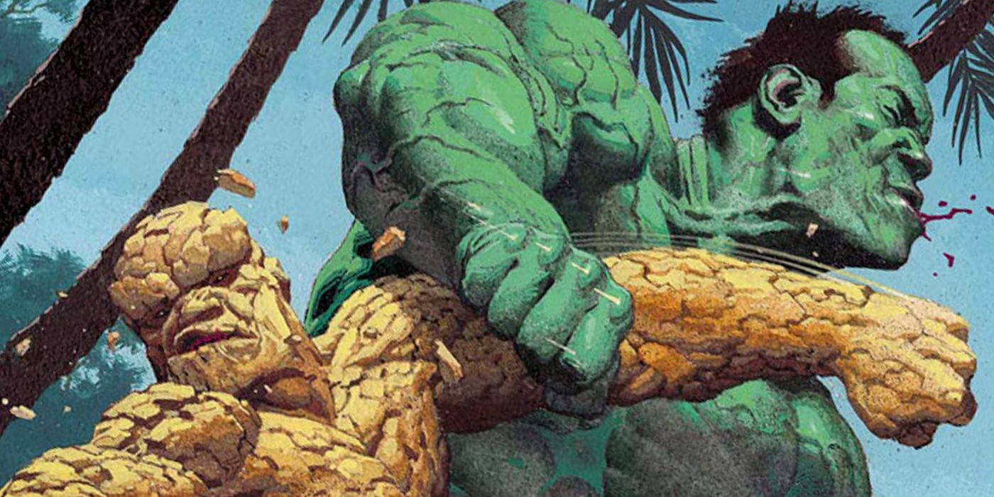 Marvel Finally Shows Who's Stronger: The Hulk or the Thing | CBR