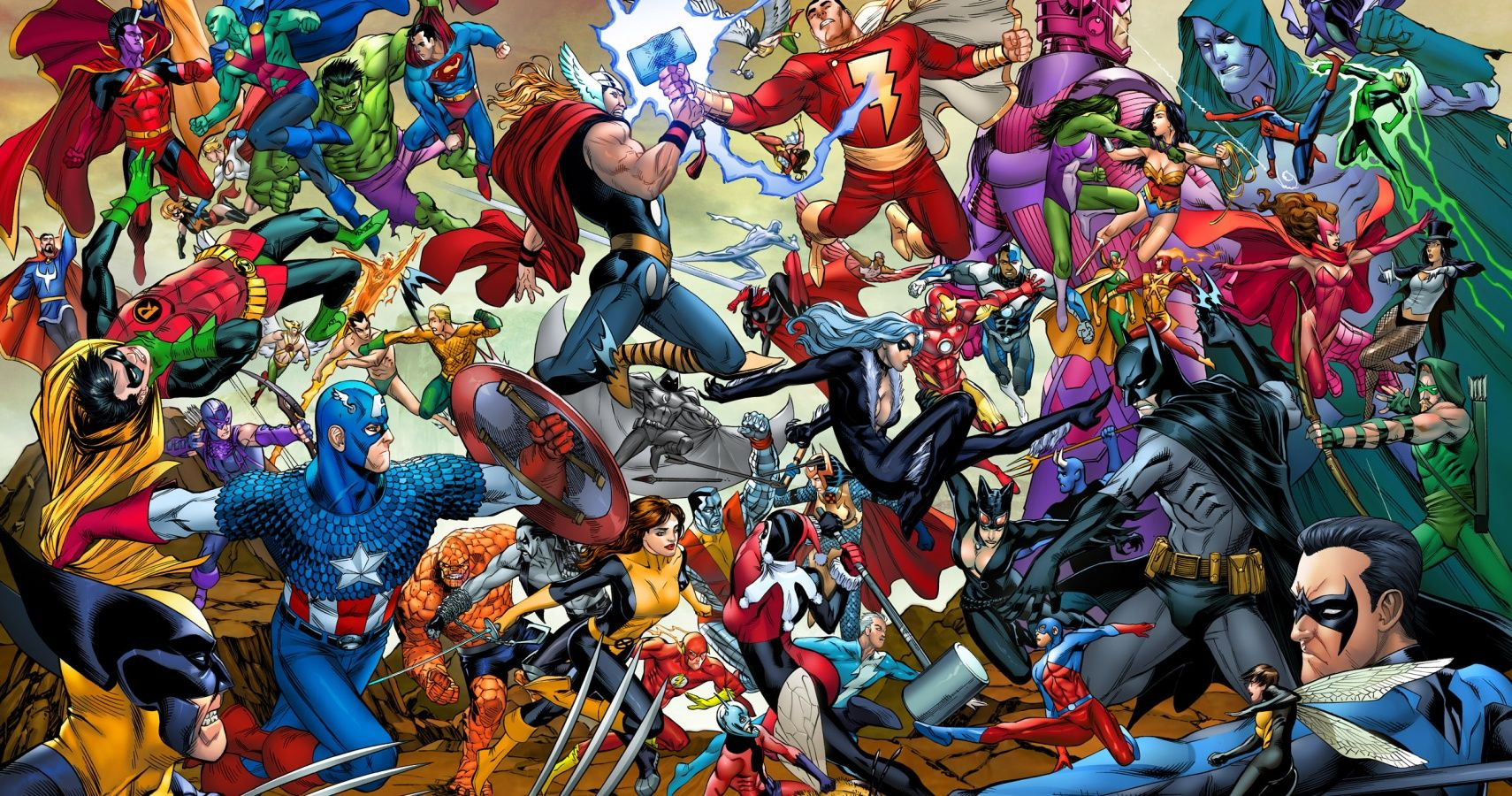 Marvel Vs DC Who Really Has The Strongest Heroes CBR
