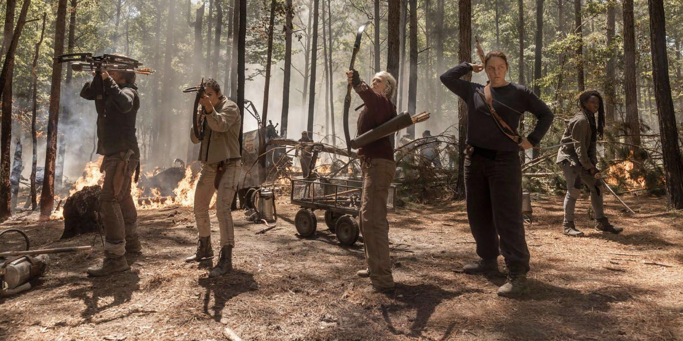 Walking Dead Season 10 Preview Teases Maggie's Return | CBR