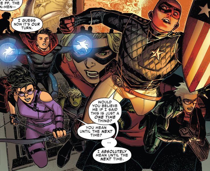 Young Avengers Reunite in Marvel Comics #1000   CBR