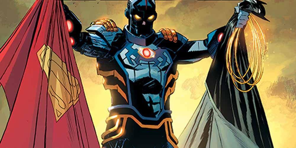 Tales from the Dark Multiverse: Infinite Crisis Stars an Evil Blue Beetle