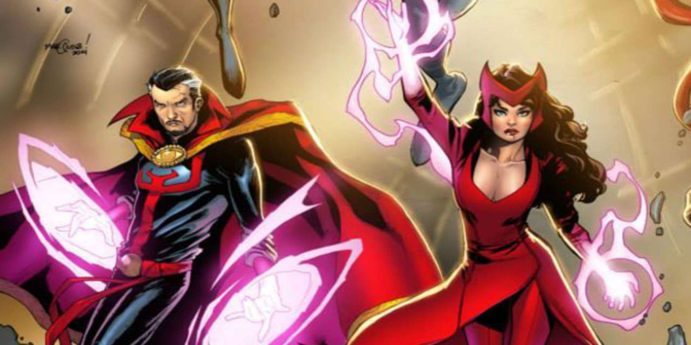 5 Powers That Doctor Strange Has That Scarlet Witch Doesn't (& 5 Only Scarlet Witch Has)