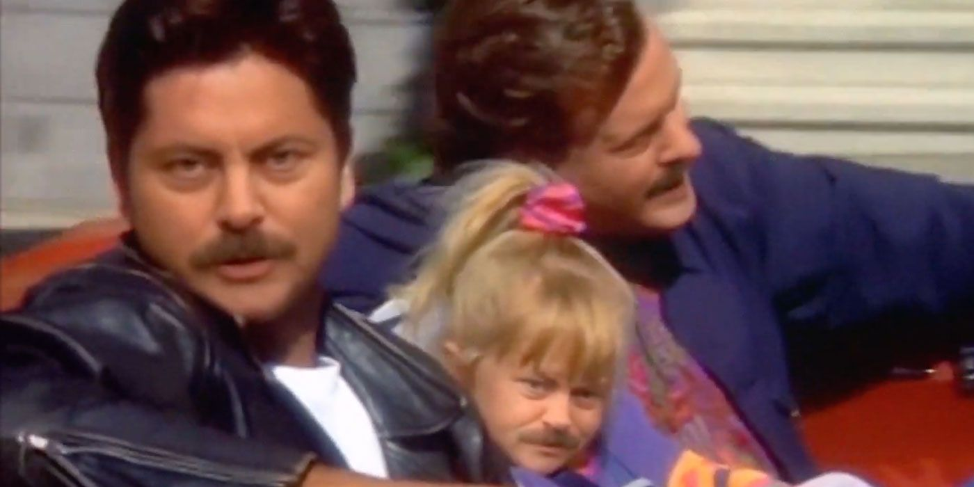 Deepfake Video Recasts Nick Offerman as Every Full House Character