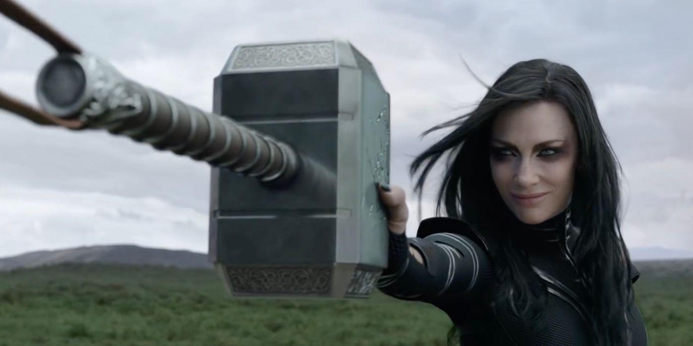 How Did Hela Destroy Thor's Hammer in Ragnarok? | CBR