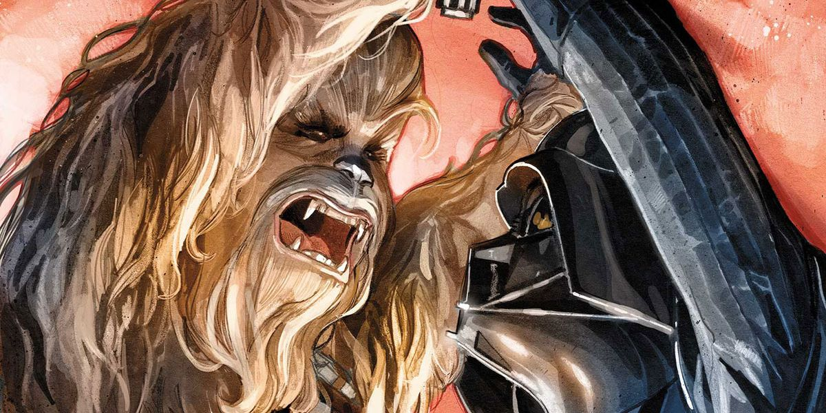 Chewbacca Will Fist Fight Darth Vader in Marvel's Star Wars | CBR