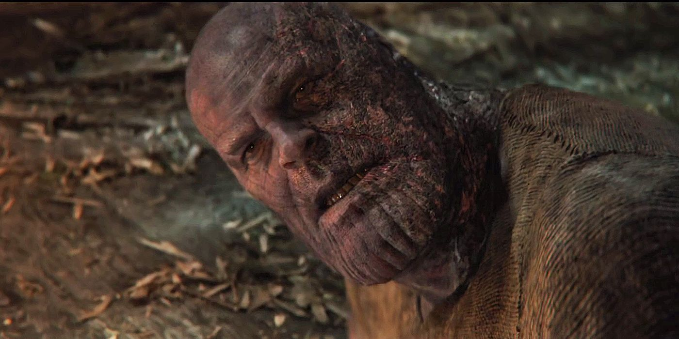 Avengers: Endgame Concept Art Shows Thanos at Peace