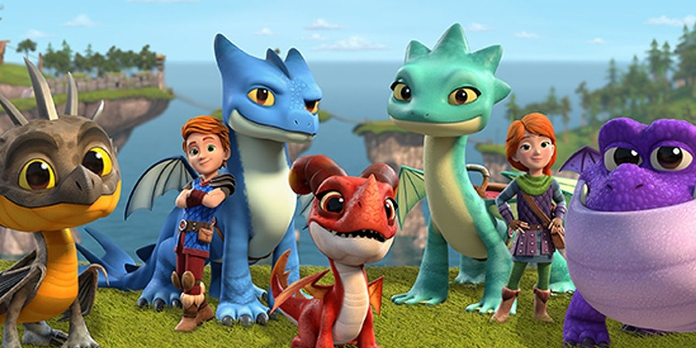 DreamWorks Dragons: Rescue Riders Is A Basic (But ...