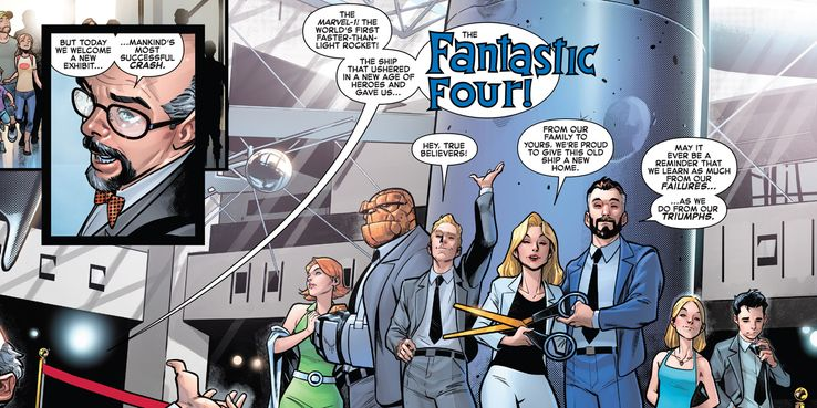 The Fantastic Four's Rocket Finally Gets an Appropriate Name