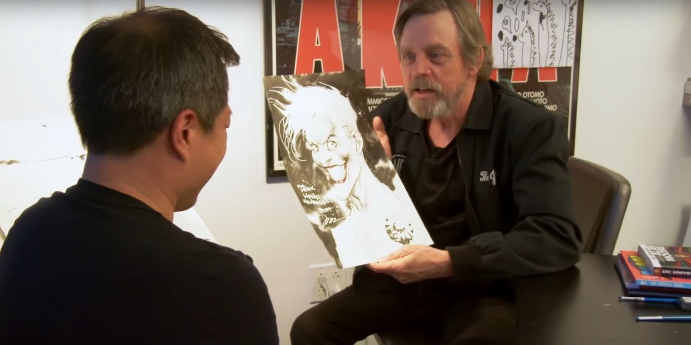 Mark Hamill Shares Jim Lee Joker Art Done as 'Payment' for Voice Message