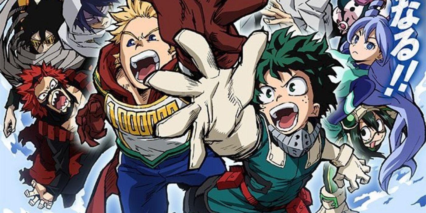 Hero Academia Season 4