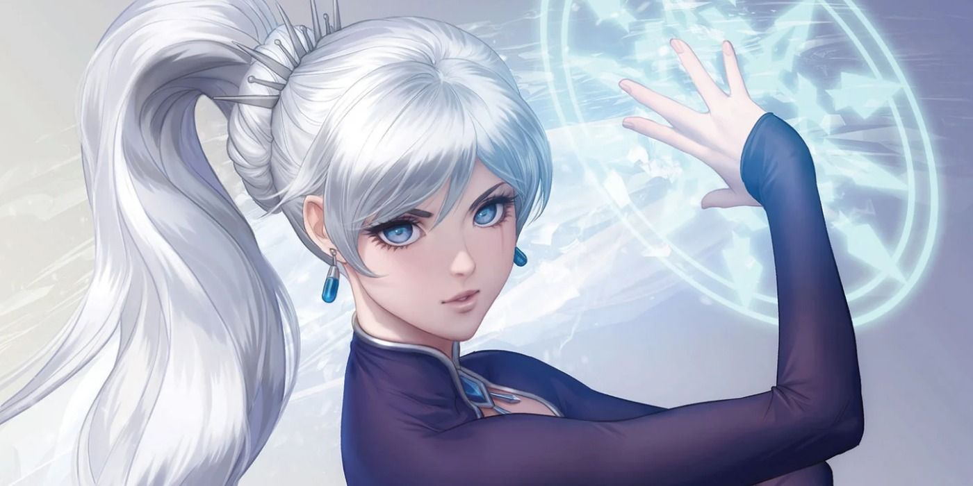 Artgerm Draws Weiss Schnee for RWBY #3 Variant Cover | CBR