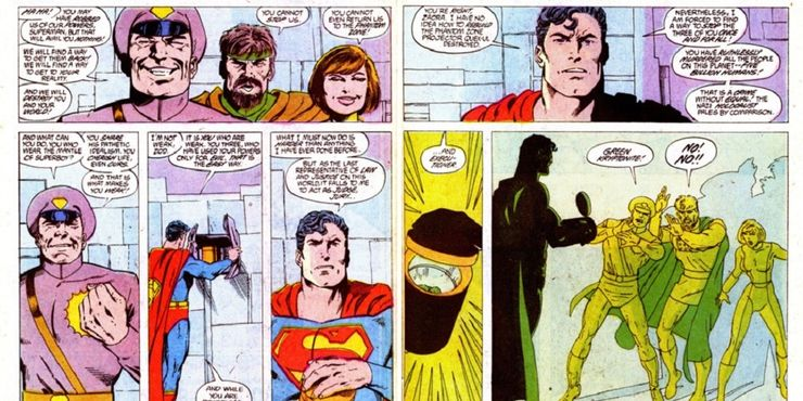 Superman Kills a Helpless Zod for 10 Times Supervillains Were Straight Up Executed Cropped - 10 Decisiones morales cuestionables que Superman ha tomado en los cómics